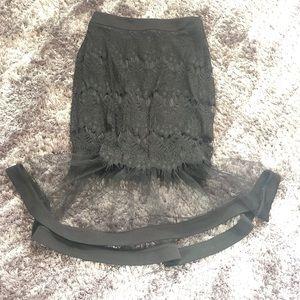 セモア Cest Moi Skirt Bottoms Knee Lower Length Flare Flocky Casual Mrs 40s 50s Fashion For Autumn Winter